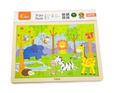 VIGA - 24 pcs Puzzle - Safari - Sweet Pea Kids