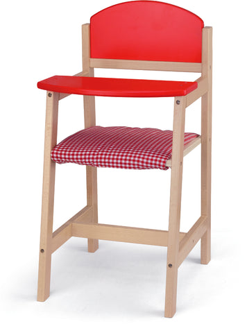 VIGA - Wooden Doll High Chair - Sweet Pea Kids