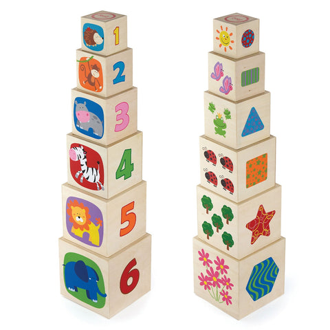 Wooden Nesting & Stacking Blocks