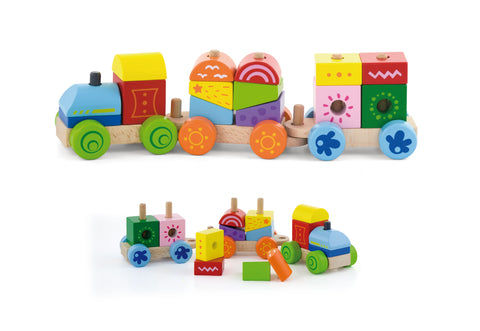 VIGA - Stacking Train - Sweet Pea Kids