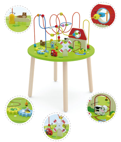 Rollercoaster Activity Table