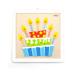 Viga - Painting Set - Birthday Cake - Sweet Pea Kids