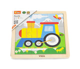 Wooden Puzzle - Train (9pcs)