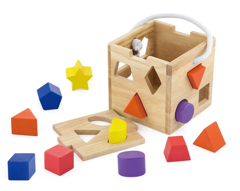 VIGA - Shape Sorting Cube - Sweet Pea Kids