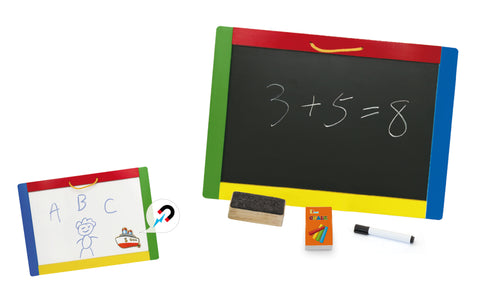 Viga - Magnetic Chalk & Dry Erase Board - Sweet Pea Kids