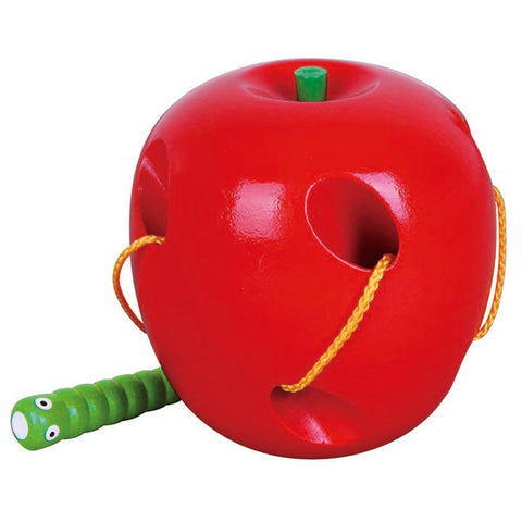 Viga - Threading Apple - Sweet Pea Kids