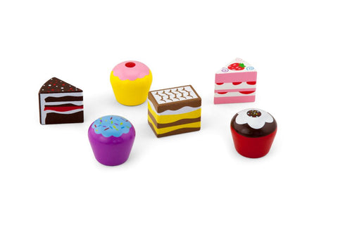 Viga - 6pcs Cake Set - Sweet Pea Kids