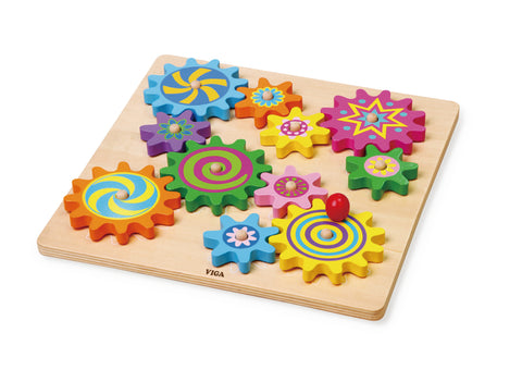 Viga - Puzzle & Spinning Gears - Sweet Pea Kids