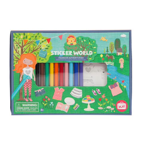 Sticker World - Fashion Adventures - Sweet Pea Kids
