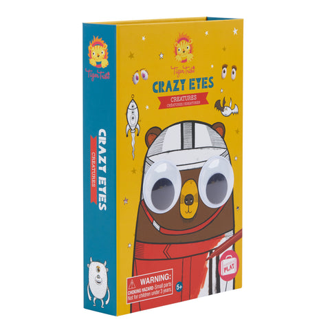 Colouring Set: Crazy Eyes - Creatures - Sweet Pea Kids