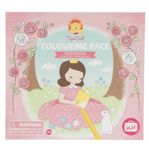 Colouring Pack - Princesses - Sweet Pea Kids