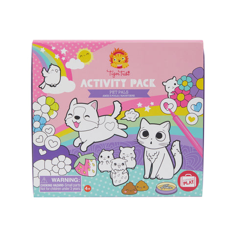 Tiger Tribe - Activity Pack - Pet Pals - Sweet Pea Kids