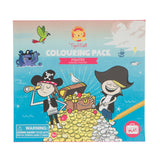 Colouring Pack - Pirates - Sweet Pea Kids