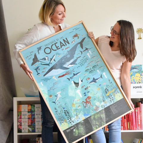Sticker Poster Discovery - Oceans