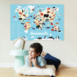 Sticker Poster Discovery - Animals of the World