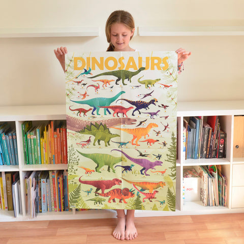 Sticker Poster Discovery - Dino