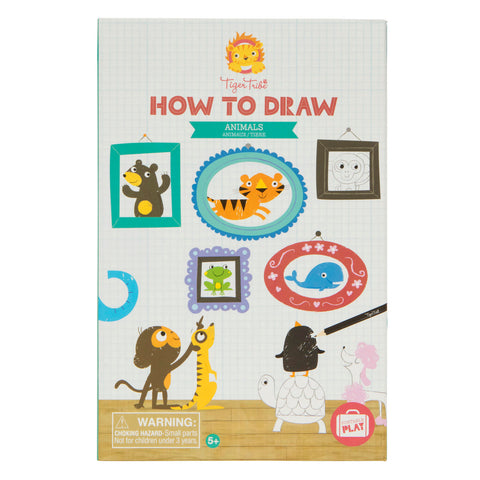 How to Draw - Animals - Sweet Pea Kids