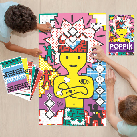 Sticker Poster - Pop Art