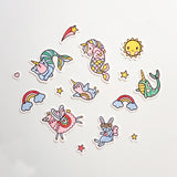 Moveable Wall Art - Magical Creatures