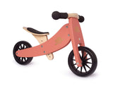 2-in-1 Tiny Tot Tricycle & Balance Bike - Coral