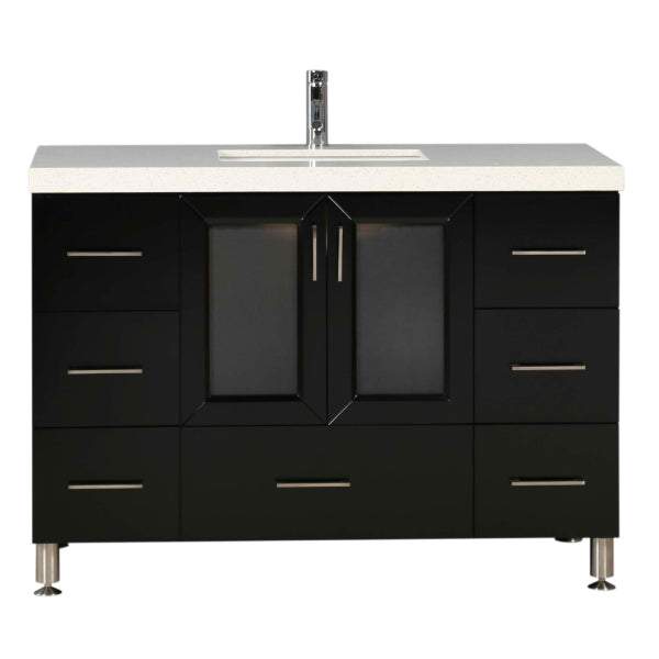 "Westfield 48"" Espresso Modern Single Sink Vanity"