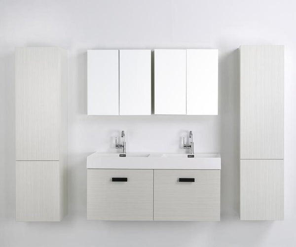 "48"" Streamline Double Floating Vanity"