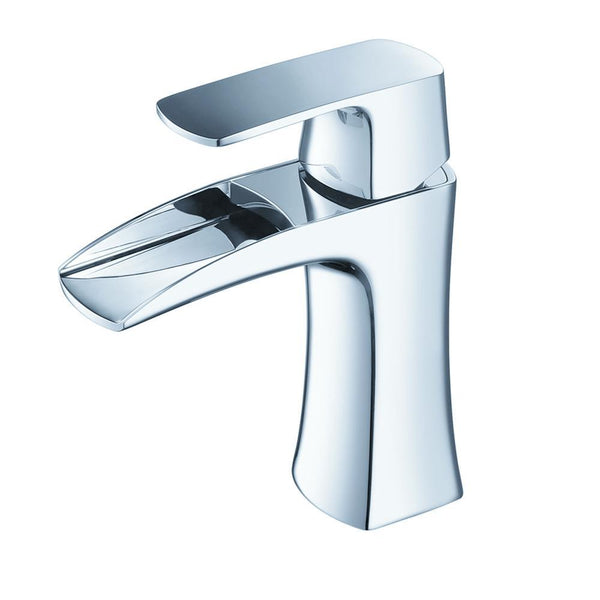 Fresca Fortore Single Hole Mount Faucet - Brushed Nickel