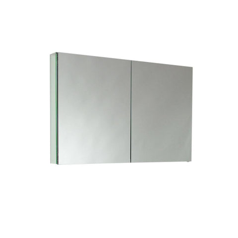 "Fresca 40"" Wide x 26"" Tall Bathroom Medicine Cabinet w/ Mirrors"