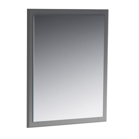"Fresca Oxford 26"" Gray Mirror"