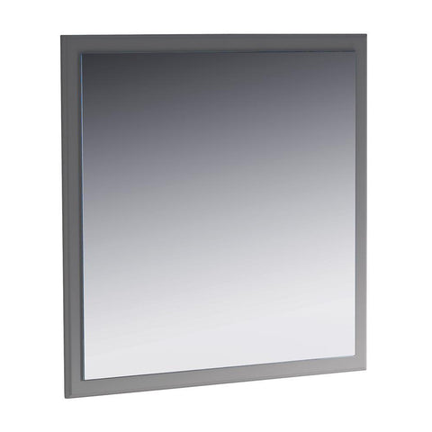 "Fresca Oxford 32"" Gray Mirror"