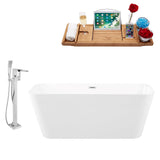 "Streamline Faucet and Tub Set 59"" Freestanding"