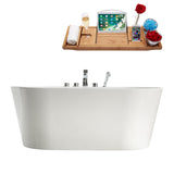"Streamline Faucet and Tub Set 58"" Freestanding"