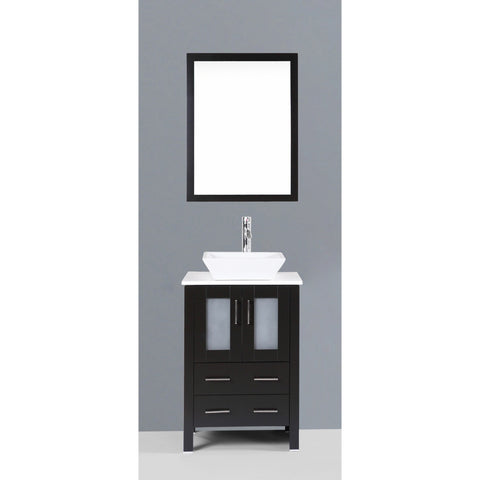 "Bosconi 24"" Single Vanity - AB124S - Bath Vanity Plus"
