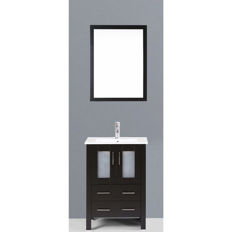 "Bosconi 24"" Single Vanity - AB124U - Bath Vanity Plus"