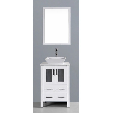 "Bosconi 24"" Single Vanity - AW124S - Bath Vanity Plus"