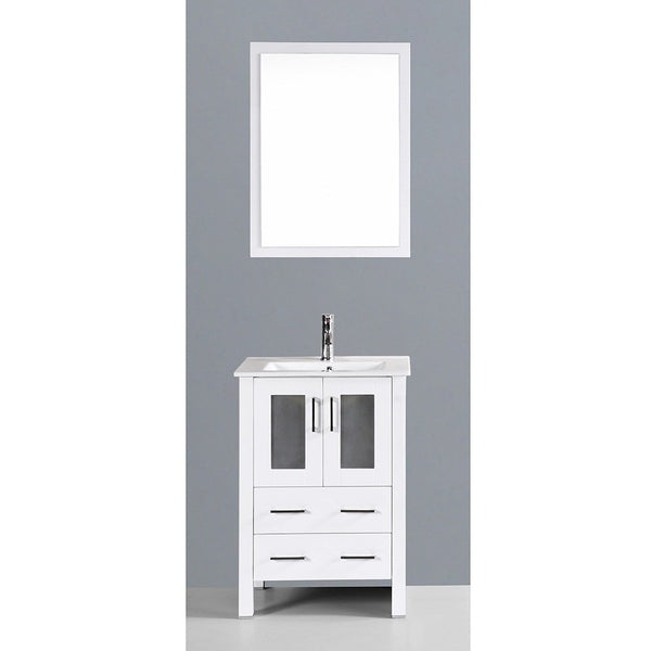 "Bosconi 24"" Single Vanity - AW124U - Bath Vanity Plus"
