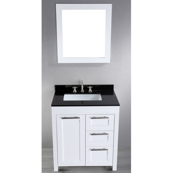 Bosconi 30'' Contemporary Single Vanity - SB-267-1 - Bath Vanity Plus