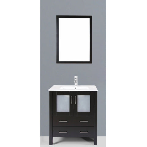"Bosconi 30"" Single Vanity - AB130U - Bath Vanity Plus"