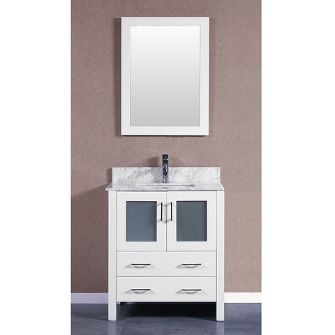 "Bosconi 30"" Single Vanity - AW130CMU - Bath Vanity Plus"