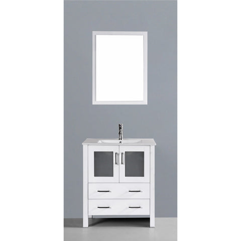 "Bosconi 30"" Single Vanity - AW130U - Bath Vanity Plus"