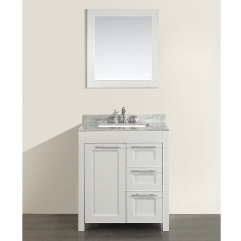 "Bosconi 30"" Single Vanity - SB-267-1CM - Bath Vanity Plus"