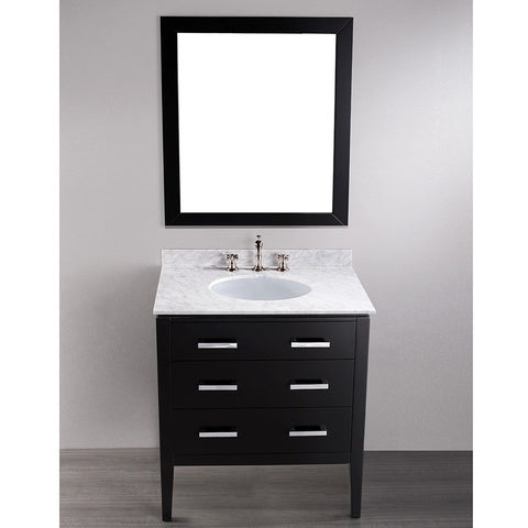 "Bosconi 31"" Contemporary Single Vanity - SB-260 - Bath Vanity Plus"