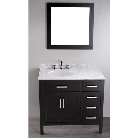 Bosconi 36'' Contemporary Single Vanity - SB-2105 - Bath Vanity Plus