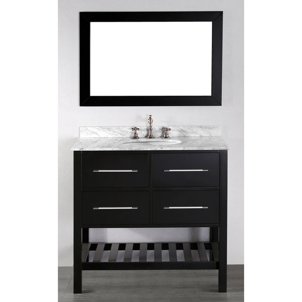 "Bosconi 36"" Single Vanity - SB-250-3 - Bath Vanity Plus"