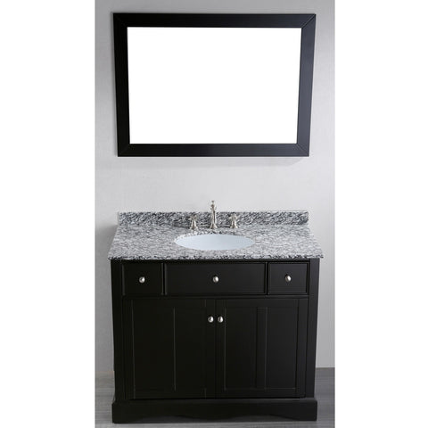 Bosconi 39'' Contemporary Single Vanity - SB-2205 - Bath Vanity Plus