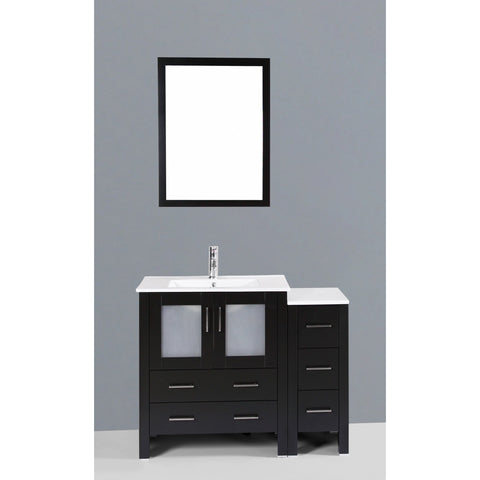 "Bosconi 42"" Single Vanity - AB130U1S - Bath Vanity Plus"