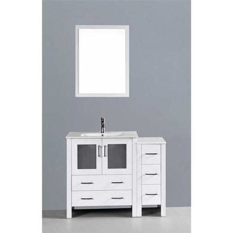 "Bosconi 42"" Single Vanity - AW130U1S - Bath Vanity Plus"
