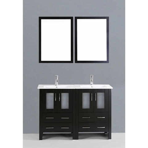 "Bosconi 48"" Double Vanity - AB224U - Bath Vanity Plus"