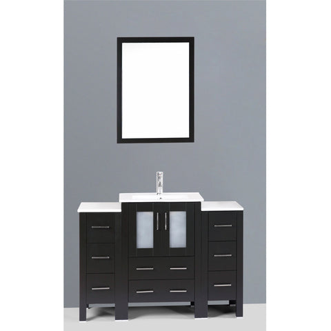 "Bosconi 48"" Single Vanity - AB124U2S - Bath Vanity Plus"