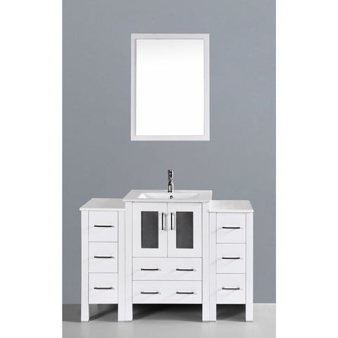 "Bosconi 48"" Single Vanity - AW124U2S - Bath Vanity Plus"